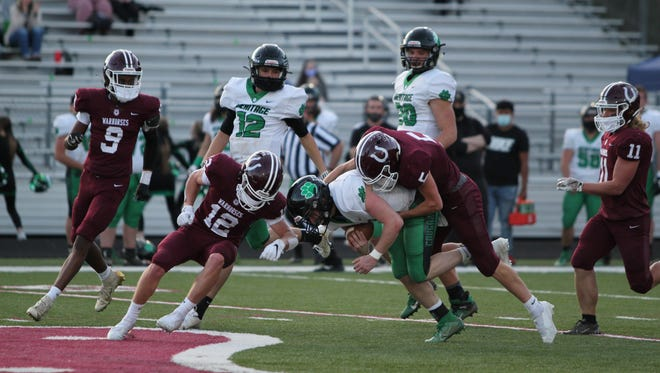 Mountain Heritage rushed 52 times on the night for 388 yards on the ground.