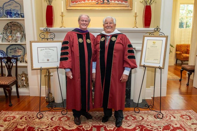 Hold is the 132nd honorary degree bestowed by Florida State University since its founding 170 years ago.