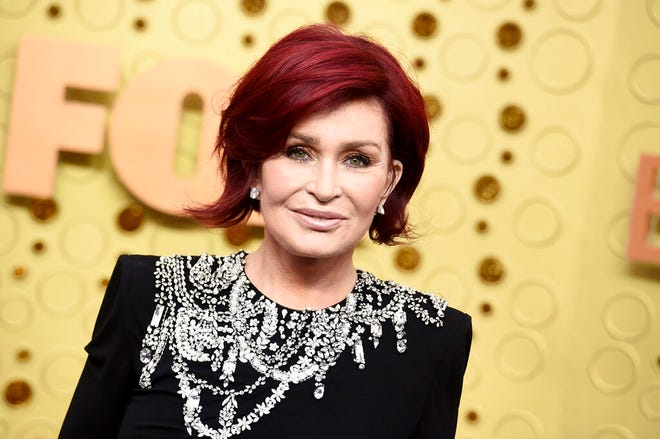 "FILE - Sharon Osbourne arrives at the 71st Primetime Emmy Awards on Sept. 22, 2019, in Los Angeles. CBS says Sharon Osbourne will no longer appear on its daytime show ""The Talk"" after a heated on-air discussion about racism earlier this month. (Photo by Jordan Strauss/Invision/AP, File)"