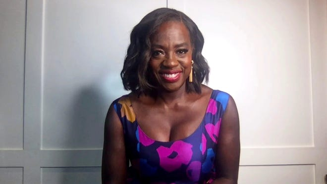 In this screengrab, Viola Davis, winner of Outstanding Actress in a Drama Series and Outstanding Actress in a Motion Picture categories speaks at the 52nd NAACP Image Awards Virtual Press Conference on March 27, 2021 in Various Cities.