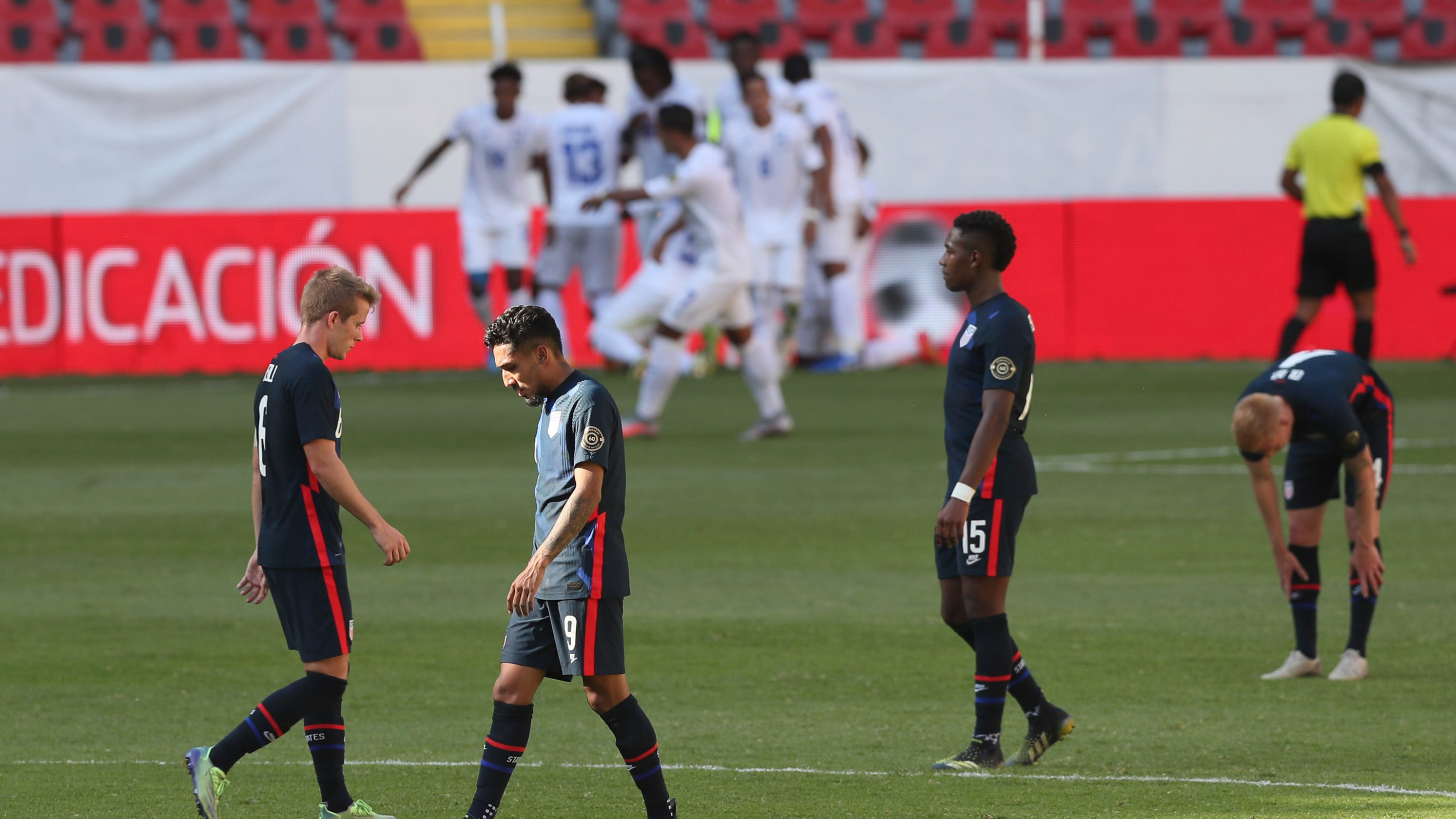 U.S. fails to qualify for Olympic Games in men's soccer after loss to Honduras – USA TODAY
