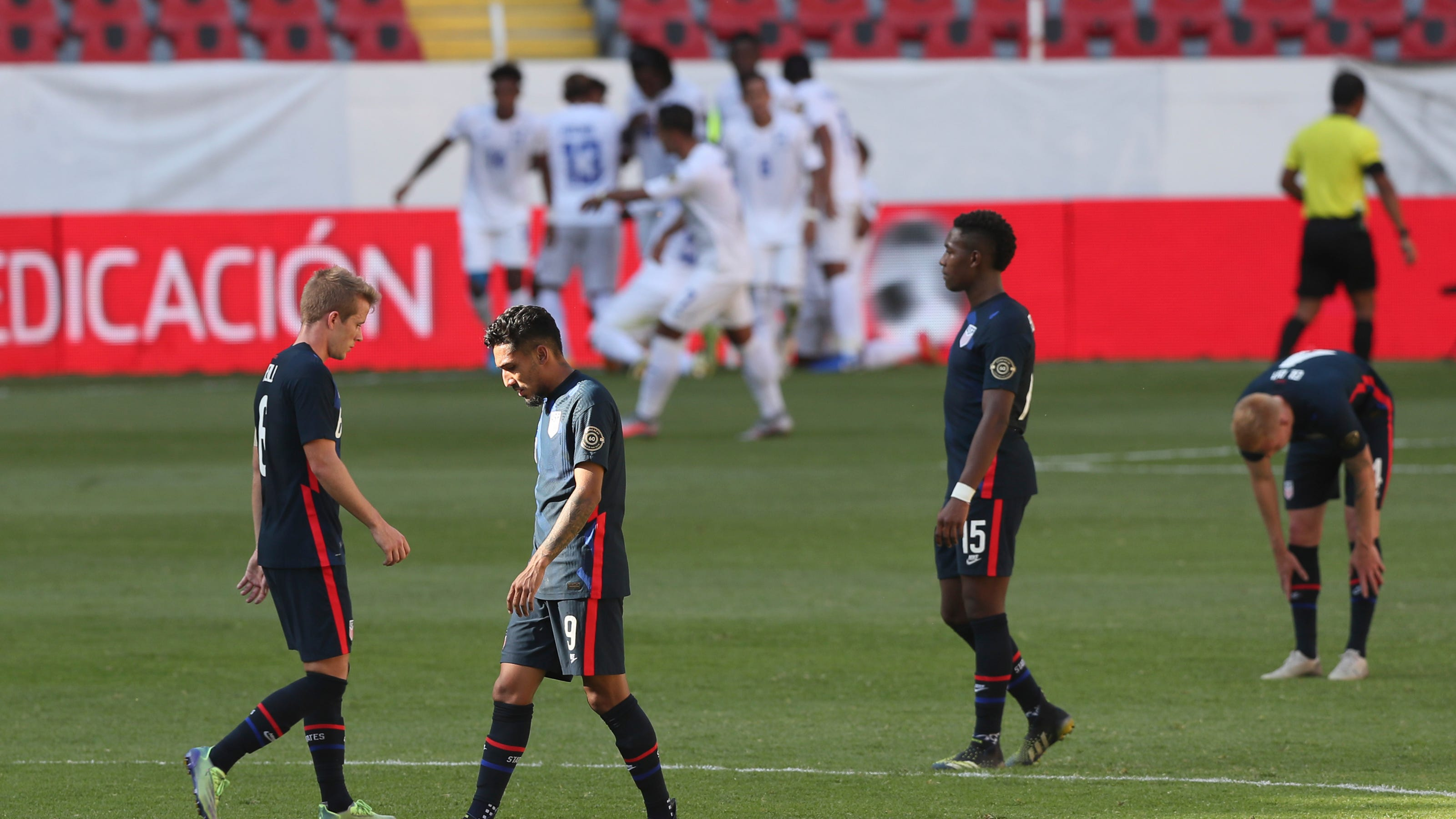 Olympic Qualifying U S Men S Soccer Team Fails To Reach Summer Games