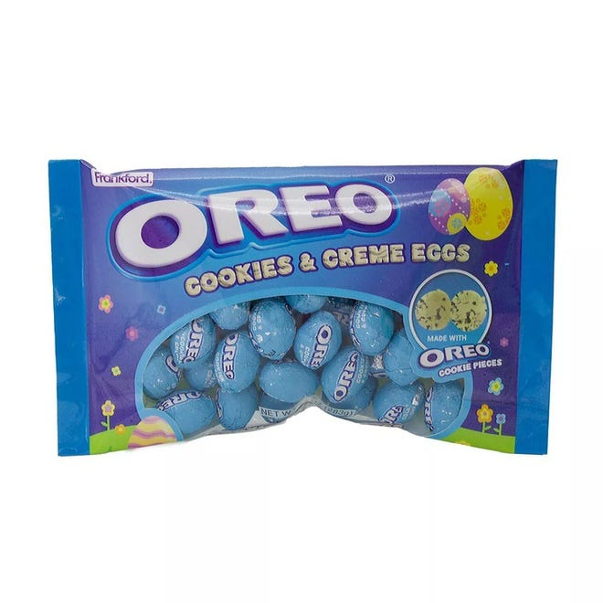 Oreo Cookies & Creme Eggs