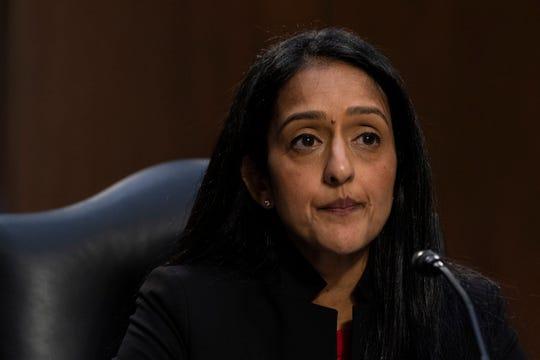 Vanita Gupta on March 9, 2021, in Washington, D.C.