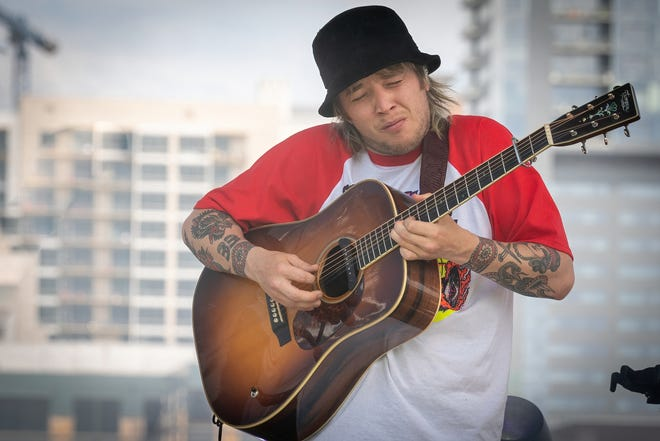 Billy Strings' concerts Friday and Saturday at the Ford Park Live have been moved to the Leach Amphitheater in Oshkosh.