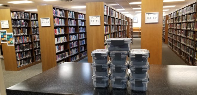 The Round Rock Public Library now has 20 mobile hotspots available to be checked out.
