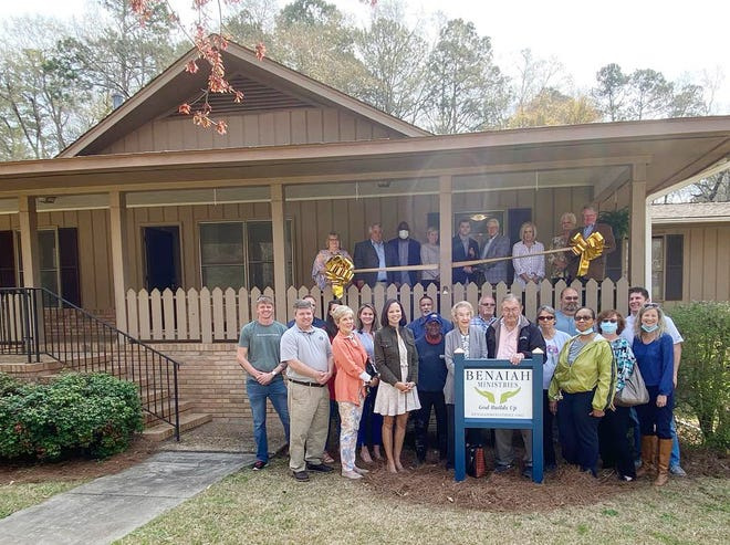 Benaiah Ministries recently cut the ribbon on its Louisville-based Sober Living House and kicked off a fundraiser to help support this program.