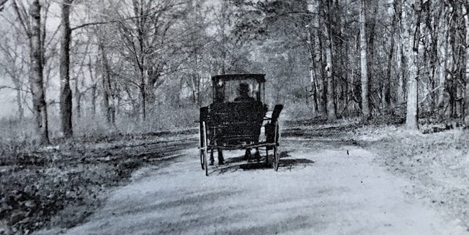 Augusta's Lovers Lane, east of town, had a history.