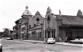 Union Station is seen in downtown Augusta shortly before demolition.