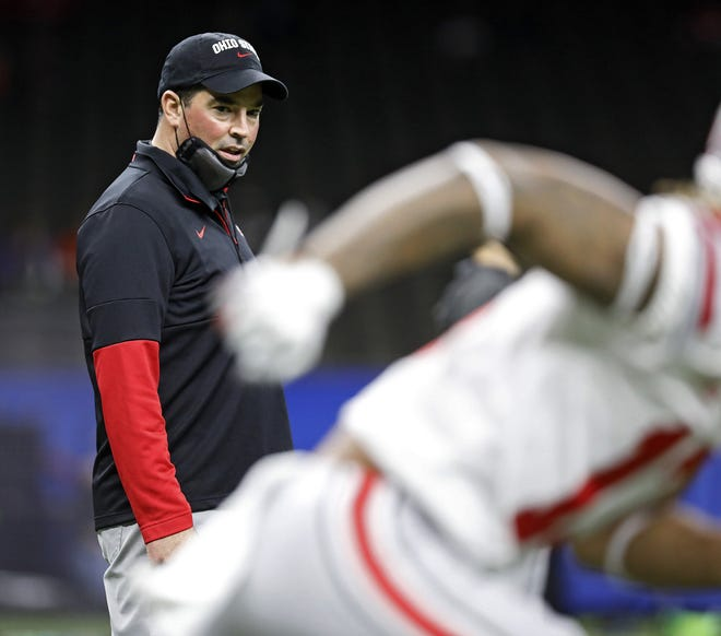 Ryan Day said that all three players vying to be Ohio State's next quarterback are throwing the ball well, but that it will take far more than pretty passes to win the starting job.