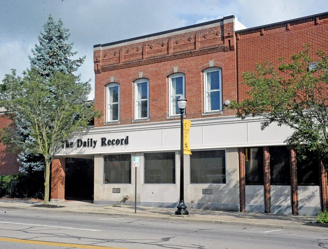 The Daily Record office in downtown Wooster
