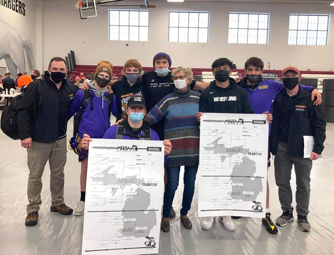 Six Bronson Vikings earned a top four finish in their weight class to secure their spot in the MHSAA Individual State finals.