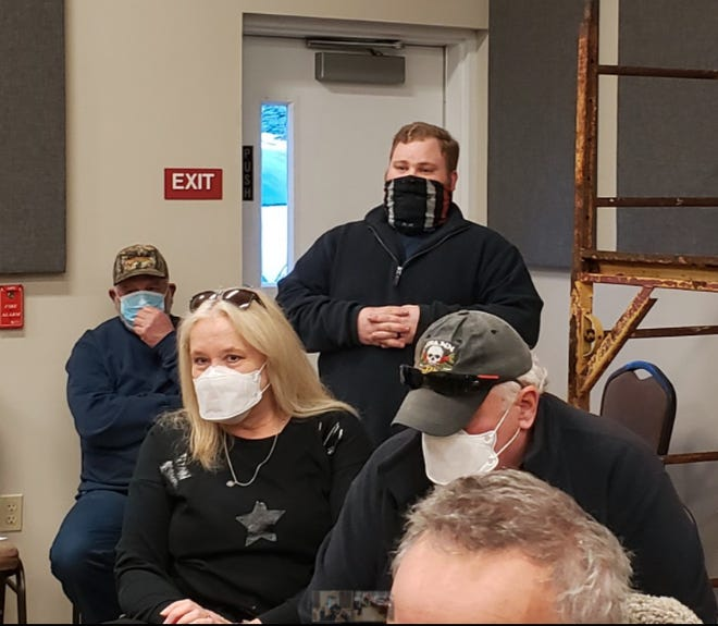Assistant Chief from the Welcome Lake Volunteer Fire Department, Will Foster informed a nearly room full of Lackawaxen Township residents about the call process for first responders during emergencies at the monthly workshop.