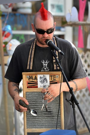 Firewater Tent Revival is on familiar ground playing in downtown Jacksonville. The band often performs at James Weldon Johnson Park and played at the old One Spark Festival when it was held in the downtown streets.