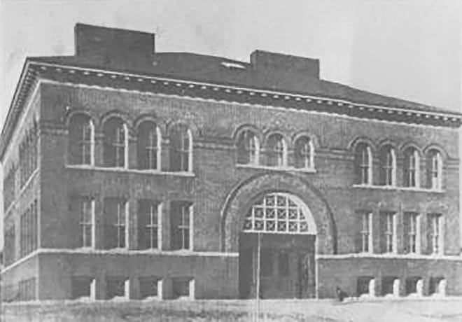 Connors Street School in the 1920s.