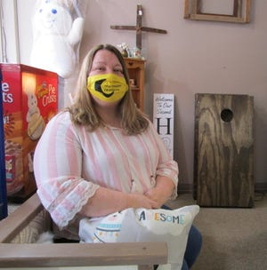 Amanda Baumgardner, who owns and operates My Moon Creations in downtown Geneseo, is scheduled to undergo a kidney auto-transplant in June at the University of Wisconsin in Madison.