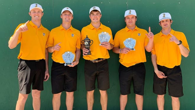 The Tiger men's golf team won the Bethel Invitational this past weekend.