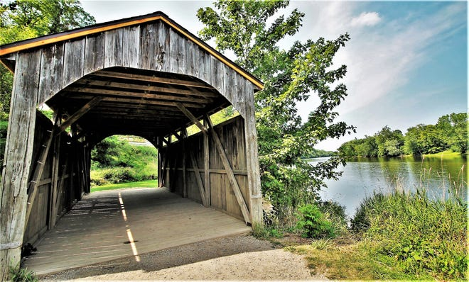 """Thanks to an anonymous gift to the Ottawa County Parks Foundation, the county parks department will build a 40-foot-high """"tree house""""atGrand Ravines County Park, just off the Idema Explorers Trail route and will serve as an overlook to the ravine."""