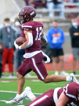 Bethel sophomore Mason Murray rushed for 63 yards and a touchdown during play Saturday against Kansas Wesleyan. Despite the loss, Bethel advances to the NAIA playoffs.
