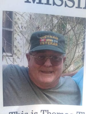 Thomas Edward Thornton has been reported missing. Those with information as to his whereabouts should contact the Tyler County Sheriff's Department.