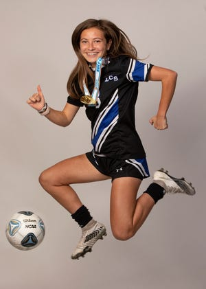 Lakeland Christian's Katie Carnes.