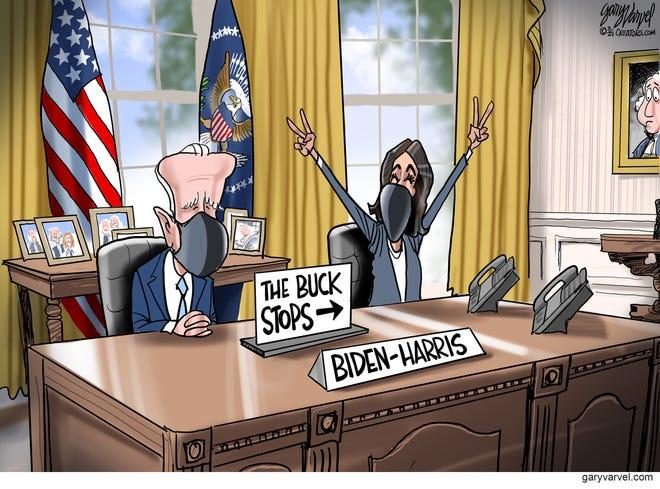 Today's editorial cartoon (March 30, 2021)