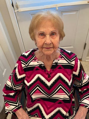 Anne Boardman, a Manchester graduate, wife of a former Manchester mayor and a Manchester resident once again, turns 100 on April 6.
