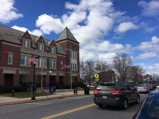 There are two contested races in Tuesday's annual town election in Natick.