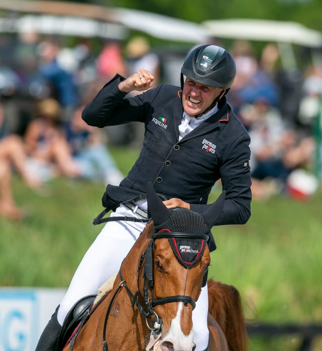 Andre Thieme and his horse Chakaria won the $350,000 first prize. This was  the final event in the 10 week Horse Shows in the Sun series.