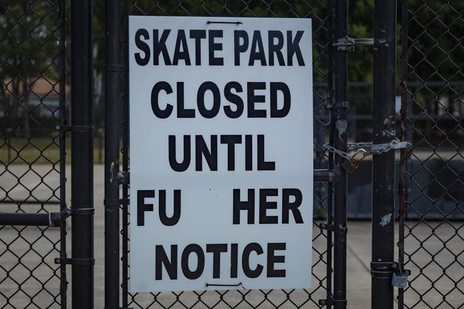 The Wellington Skate Park located in Village Park in Wellington, Fla., is currently closed. It is scheduled for a $150,000 makeover.