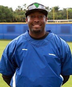 Palm Beach Lakes baseball coach Bobby Gilbert Jr.
