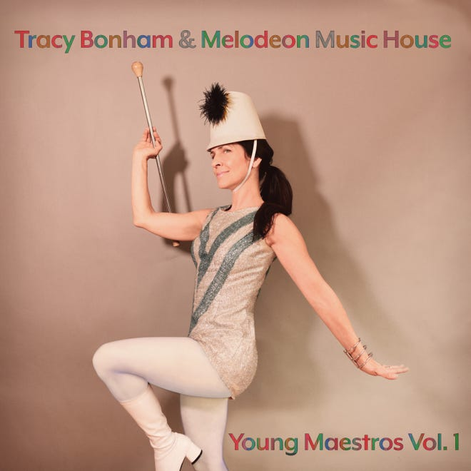 """The album cover of Tracy Bonham and Melodeon Music House's """"Young Maestros Vol. 1."""""""