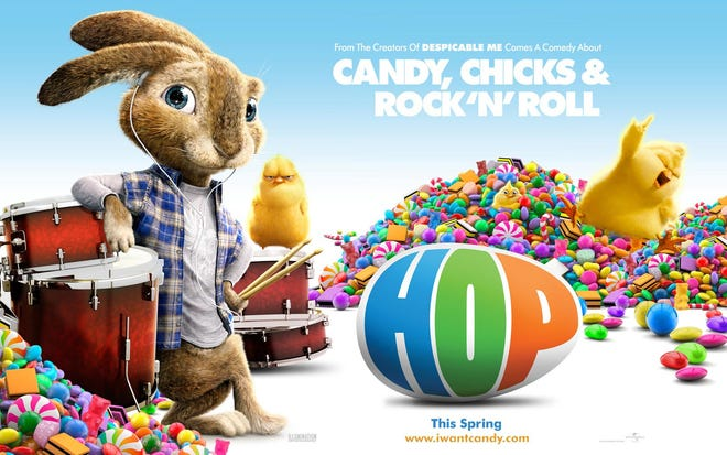 """""""HOP"""" is the """"First Friday Family Movie"""" featured on April 2 at the Canton Palace Theatre in conjunction with First Friday events."""
