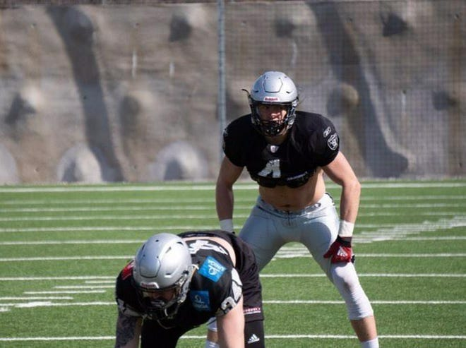AJ Wentland, the former Harlem star who has gone on to play pro football overseas, is now in Austria getting set for a new season with the Swarco Raiders.