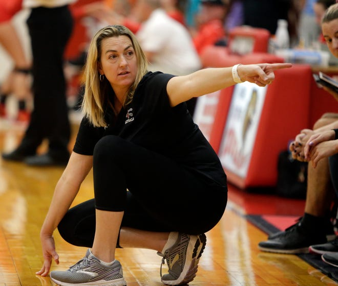Port Charlotte High volleyball coach Christine Burkhart stepped down after two seasons at the helm.