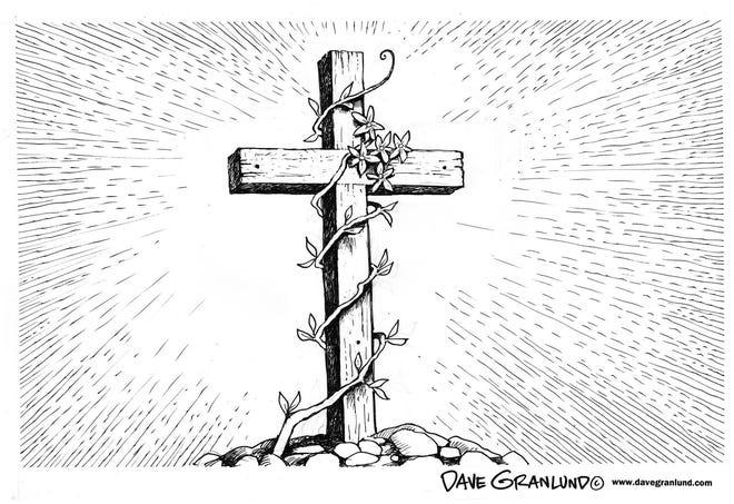 Dave Granlund cartoon on Easter.