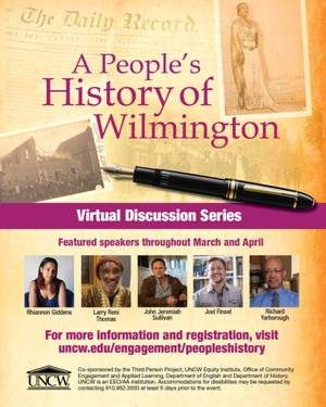"""""""A People's History of Wilmington,"""" a series ofvirtualtalks and discussions, highlighting Black history and culture will be shown in April."""