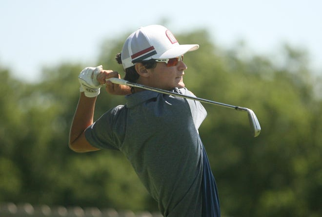 Washburn Rural junior Luke Leonetti is one of four returning starters from the Junior Blues squad that finished sixth at the 2019 Class 6A state tournament.