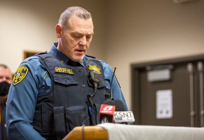 The Shawnee County Sheriff's Office has recovered 91.8 pounds of meth in 2021.