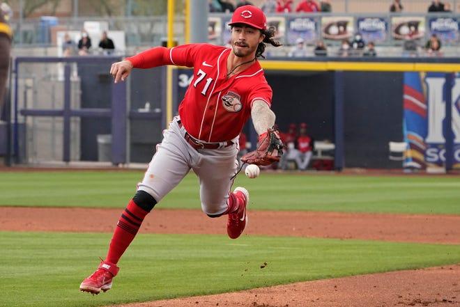 Cincinnati Reds second baseman Jonathan India is a former standout at Florida.