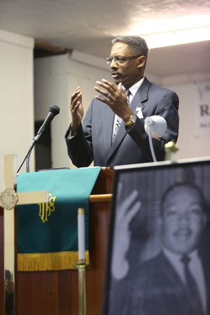 The Rev. Milford L. Griner is retiring after 37 years in ministry. [File Photo by Brad McClenny/Special to The Guardian]