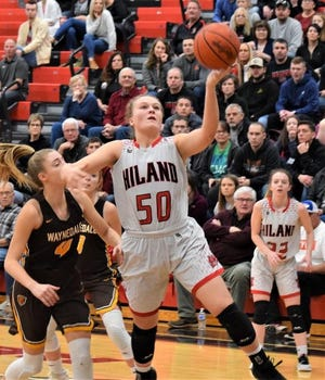 Hiland's Zoe Miller was named the Division III Player of the Year.