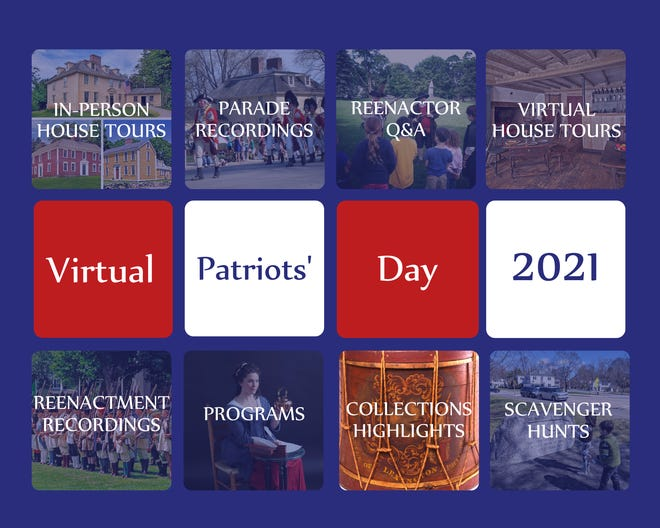 Patriots' Day activities will take place April 17-24.