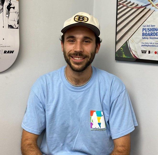 Jacob Folson-Fraster, assistant program coordinator for Recreation Worcester