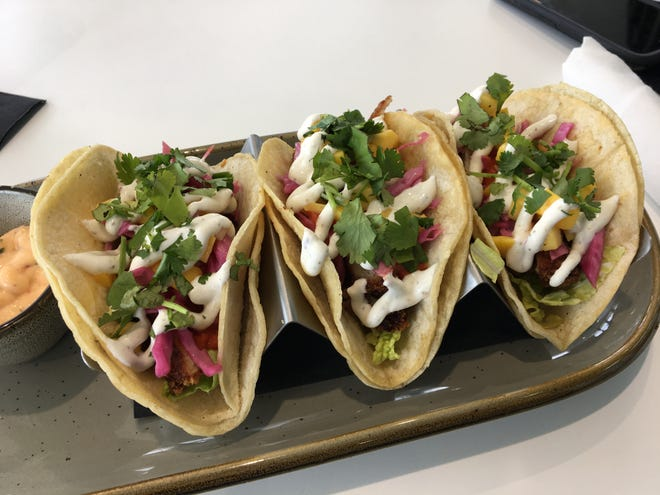 One of Battle Creek's newest restaurants is WACO Kitchen, which features farm-to-table offerings, including their signature WACO Taco.