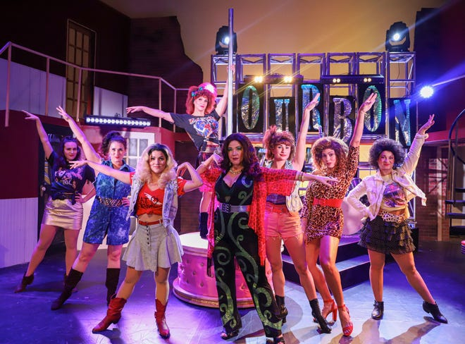 """The Breeverd Regional Art Group, Inc./Henneger Center in Melbourne received a $ 13,333.33 cultural support grant during the 2021-22 budget year.The photo is a member of the female ensemble """"Rock of Ages,"""" It was performed at the Henneger Center earlier this year."""