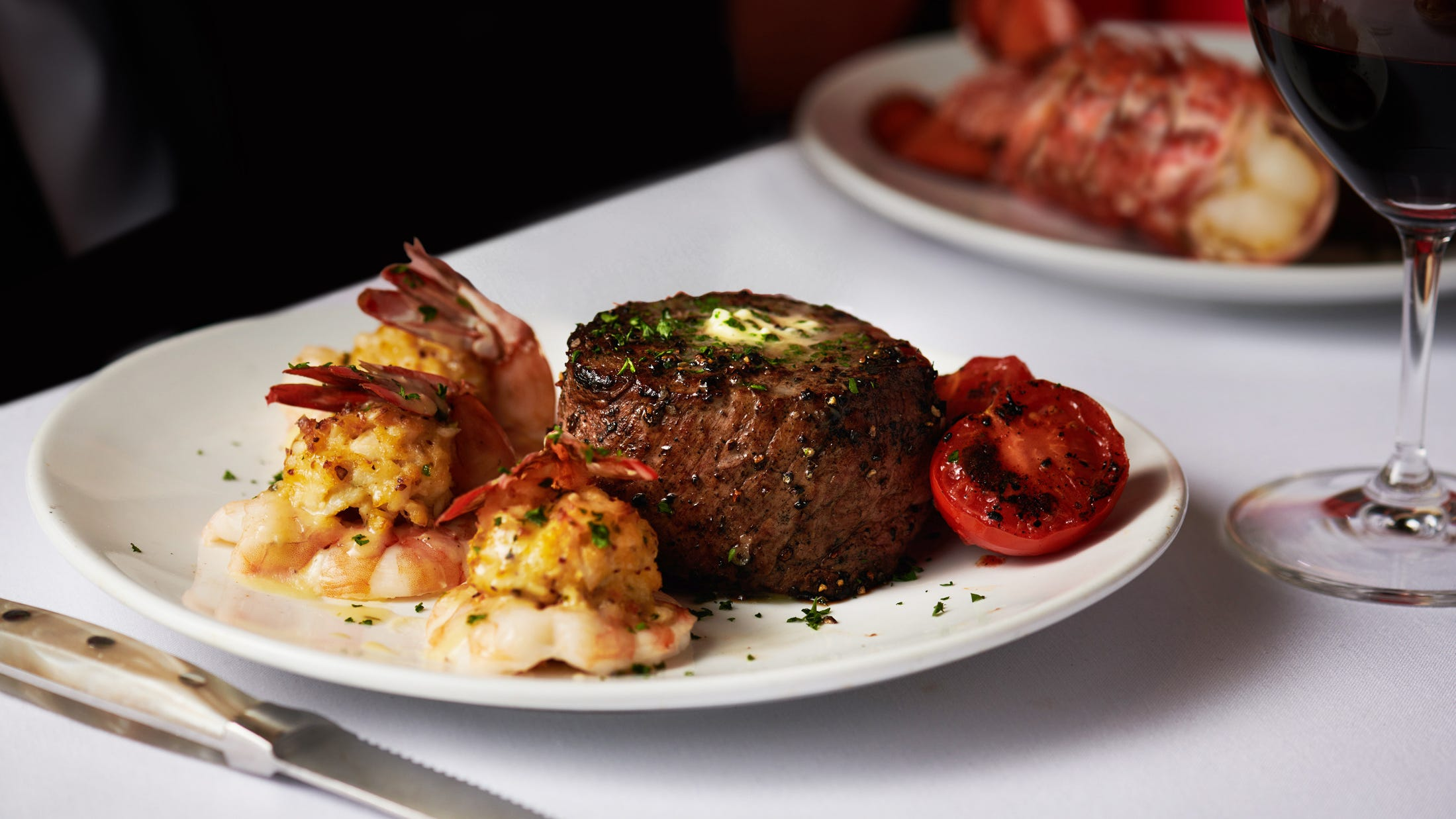 Filet and Lobster at Fleming's