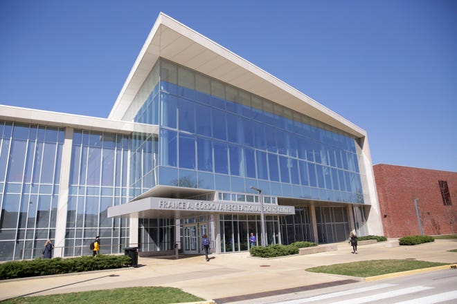 Purdue University's France A. Córdova Recreational Sports Center, Monday, March 29, 2021 in West Lafayette.