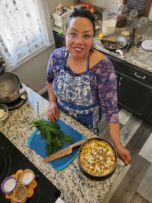 Malina Schweinert, a family and consumer science teacher at Nathan Hale High School, is offering free online cooking classes every Saturday.