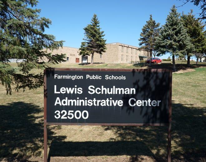 Farmington Public Schools' Lewis Schulman Administrative Center on Shiawassee.